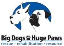 Big Dogs Huge Paws logo