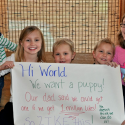 Two Girls And A Puppy Facebook Viral