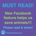 Facebook Hashtags Save Animals