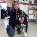 Dog adopted from Parker County animal shelter - Weatherford, Texas