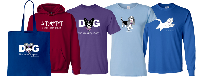 Original Dog Lover T-Shirts (photo)